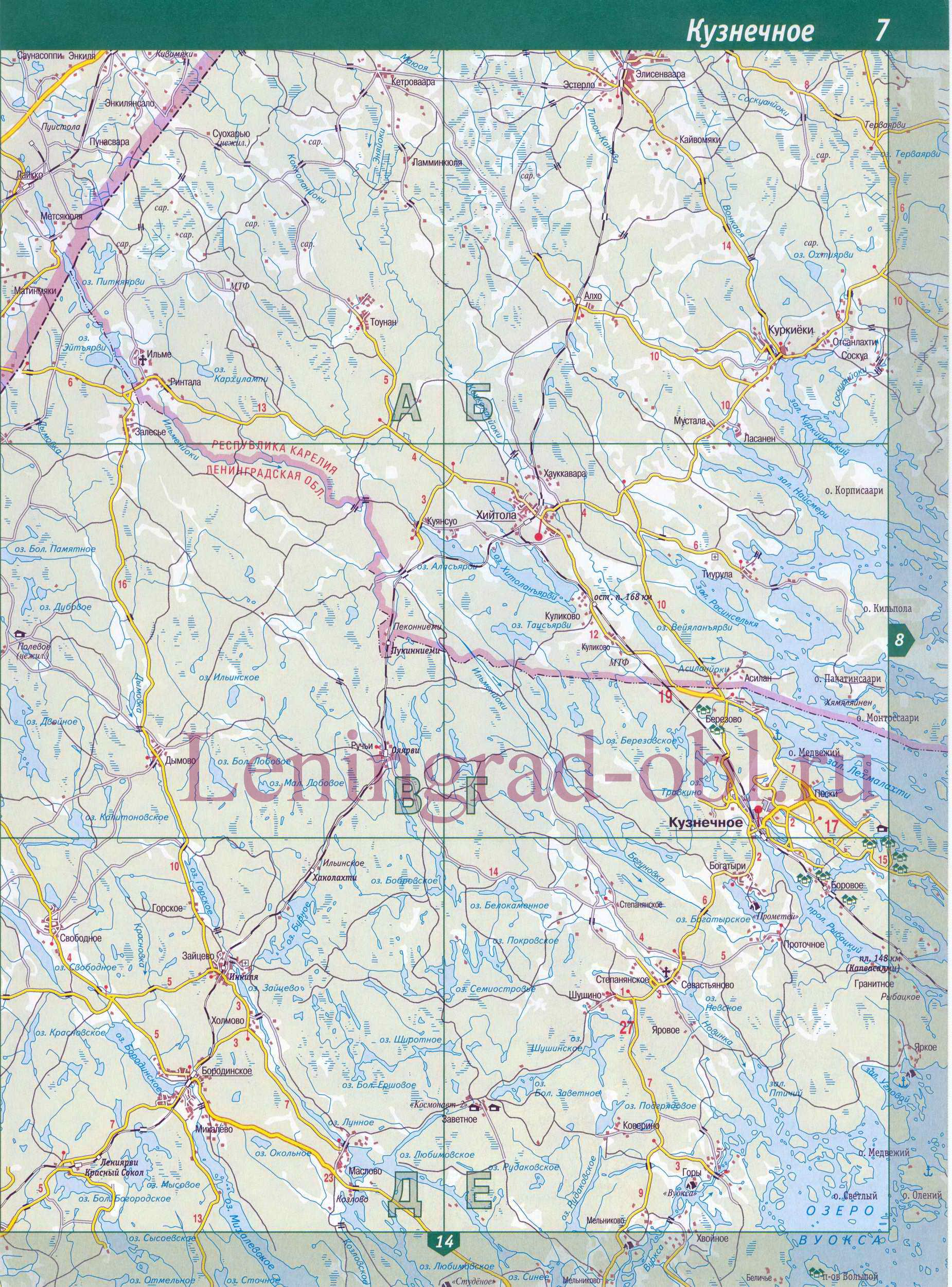 Карта Санкт-Петербурга (Карта СПб) - www.kartaspb.ru